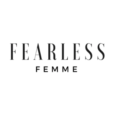 Fearless femme clothing logo